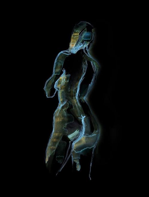 nude paintings,56Figure76,MTO_1550_15503,Artist : Community Artists Group,Mixed Media