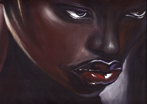 African women paintings,lady paintings,56Figure139,MTO_1550_15554,Artist : Community Artists Group,Mixed Media