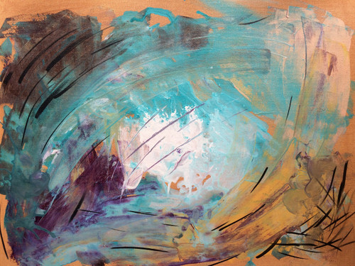 island, mind, flow, drift, color, abstract,Island,ART_1693_15588,Artist : Abhinaya Ramadurai,Mixed Media