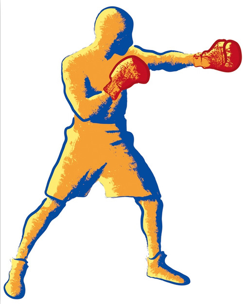 boxer paintings,boxing paintings,wwe paintings,bodyguard paintings,fighting paintings,56Figure222,MTO_1550_15698,Artist : Community Artists Group,Mixed Media