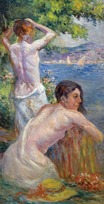lady paintings,nude paintings,56Figure187,MTO_1550_15679,Artist : Community Artists Group,Mixed Media
