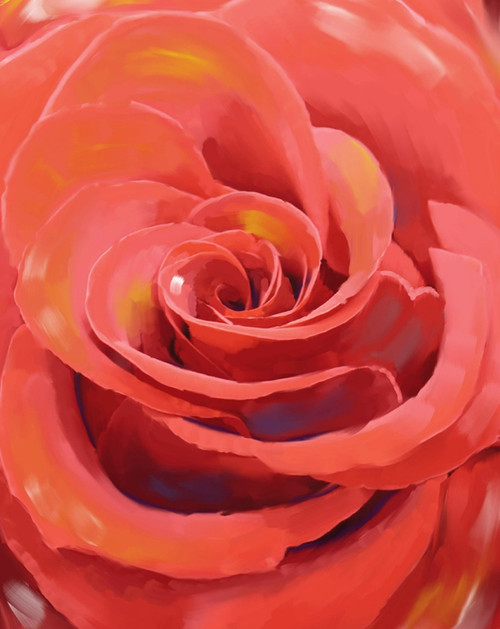 red rose paintings,bautiful rose paintings,romance paintings,valentine paintings,56Flower11,MTO_1550_15772,Artist : Community Artists Group,Mixed Media