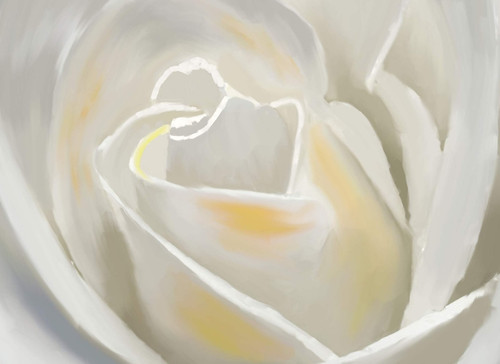 white rose paintings,56Flower06,MTO_1550_15767,Artist : Community Artists Group,Mixed Media