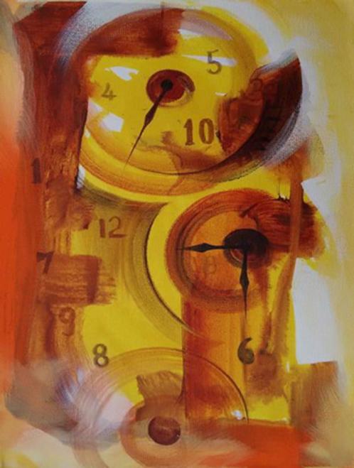 ,Golden Time,ART_1700_14126,Artist : Kraftsland India Corp,Acrylic