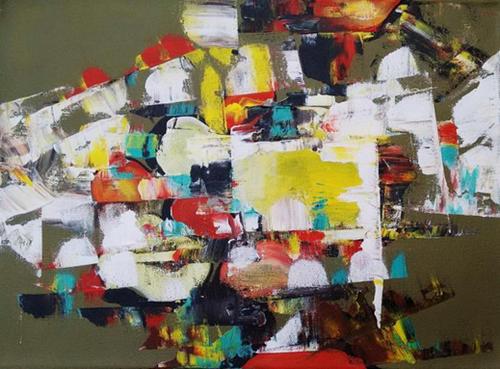 ,Abstract Art,ART_1700_14118,Artist : Kraftsland India Corp,Acrylic