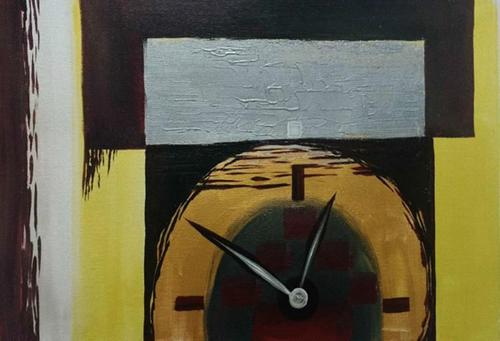 ,Flow of Time,ART_1700_14112,Artist : Kraftsland India Corp,Acrylic