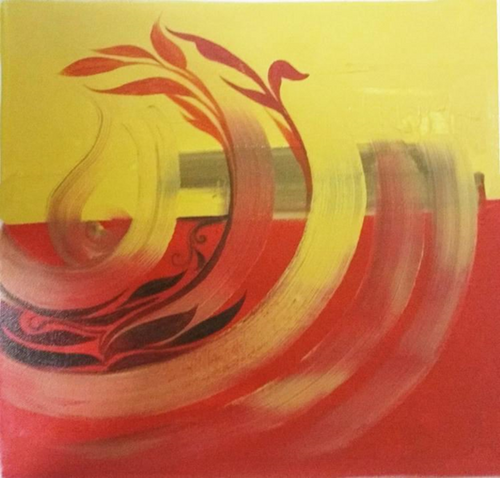 ,Rise of wind,ART_1700_14095,Artist : Kraftsland India Corp,Acrylic