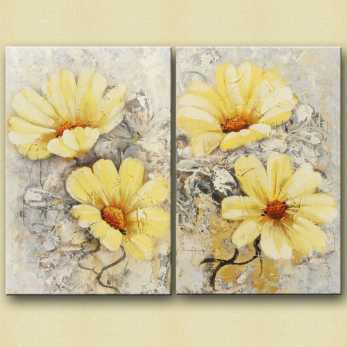 Queens - 32in X 24in,28GRP88_3224,White, Light Shades,80X60 Size,Multi Panel Art Canvas Painting