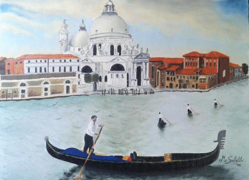 Venice,Venice,ART_1996_16321,Artist : Maria Sorbello,Oil