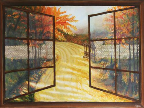 ,The Path,ART_647_16384,Artist : Jigisha Dwivedi,Oil