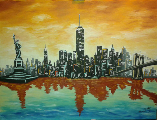 New York,New York,ART_1996_16279,Artist : Maria Sorbello,Oil