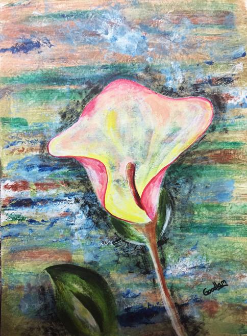 floral, abstract, modern,Blossom,ART_2051_16594,Artist : Goodlam Chopda,Acrylic