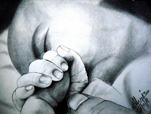 ,Truth of Life,ART_518_8587,Artist : Aakash Jain,Charcoal