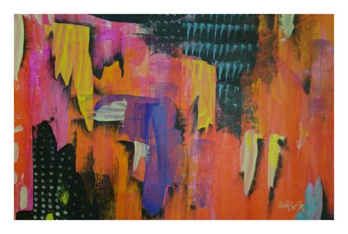 abstract painting.,Abstract.,ART_1435_17491,Artist : Sheetal Kshatriya,Acrylic