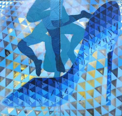 competition,society,life,increased,unemployment,future,COMPETITION,ART_2187_17617,Artist : Neelam Verma,Acrylic