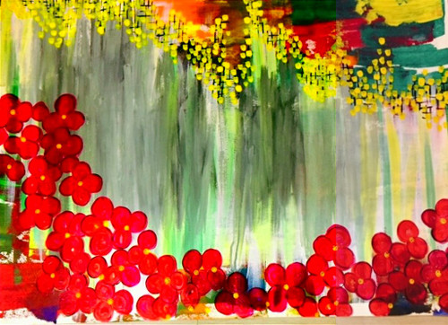 ,Flowers Of heaven,ART_1985_16227,Artist : Shilpi Sharma,Acrylic