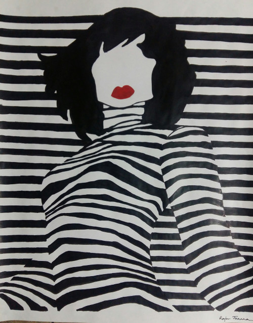 Style,Vogue,ART_2275_17887,Artist : Raja Joanna,Water Colors