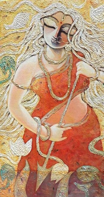 ,KRRORAA,ART_1469_17853,Artist : Subrata Ghosh,Acrylic