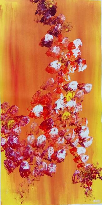 ,yellow love,ART_1734_18019,Artist : Suraj Prajapati,Acrylic