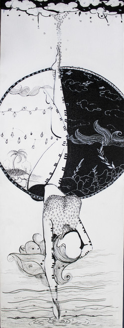 ,prakriti 8,ART_1253_18234,Artist : Aditi Godbole,Mixed Media