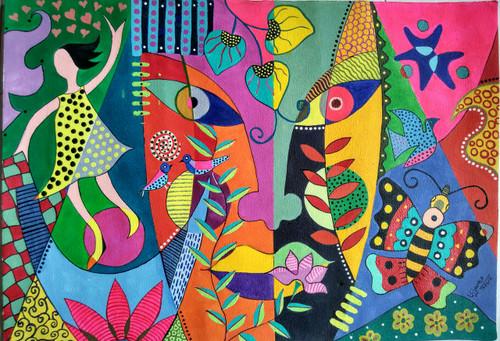 ,Modern art1,ART_1243_18344,Artist : Ujwala Chavan,Acrylic