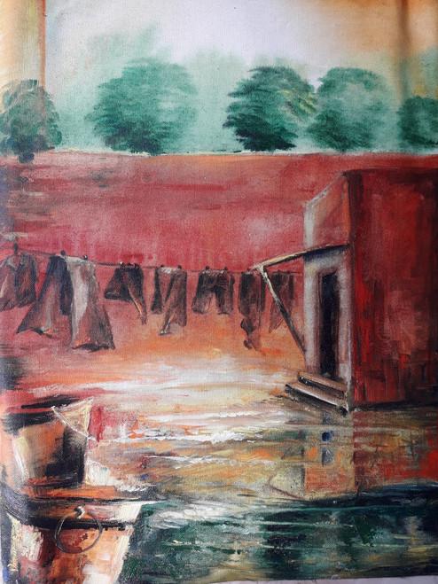 Innominate,Innominate,ART_2467_18540,Artist : Varinder Kaur,Acrylic