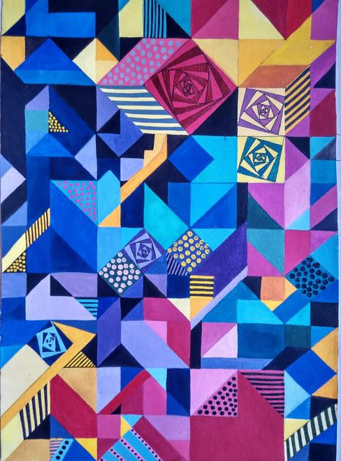 ,modern art 2,ART_1243_18526,Artist : Ujwala Chavan,Acrylic