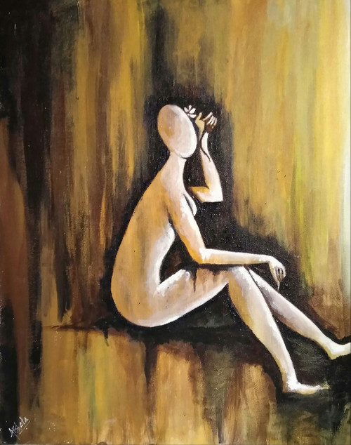 Peace,Tranquility,Solace,Solace,ART_1329_18606,Artist : Akshata Indore,Acrylic