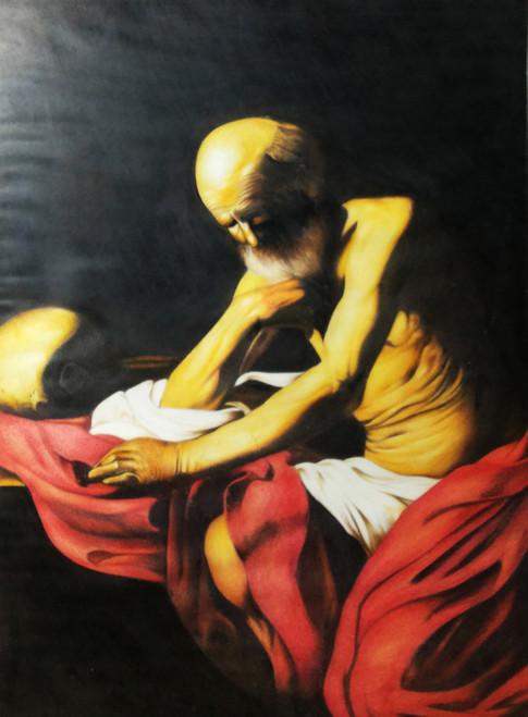 Figurative,Old Man,ART_1806_15320,Artist : Tushar  Nivandikar,Pencil