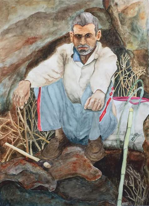 ,Chittarangi-Dadhibal,ART_2047_19085,Artist : Prashant Singh,Water Colors