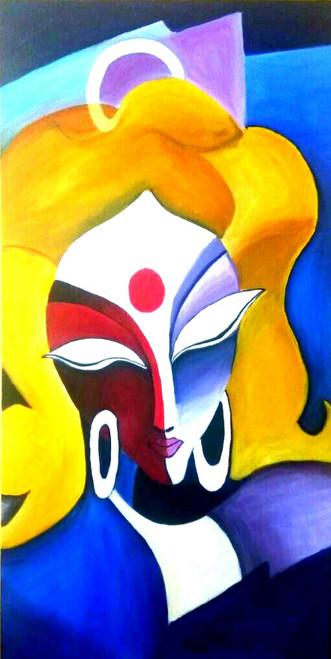 ,The Lady,ART_2648_19317,Artist : Payal Shah,Oil