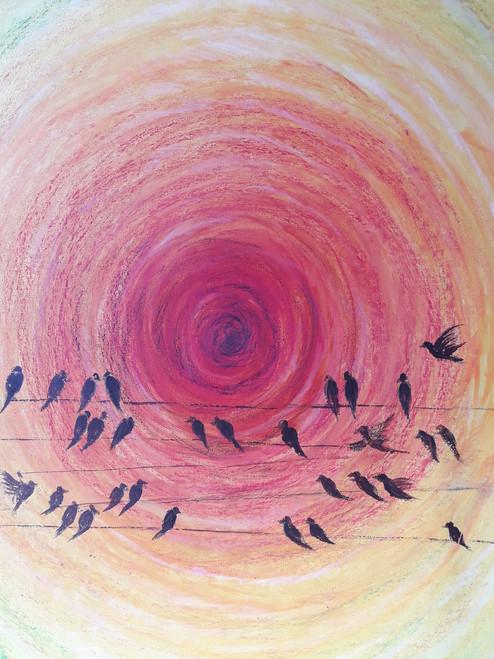 Morning,Morning,ART_2467_18536,Artist : Varinder Kaur,Acrylic