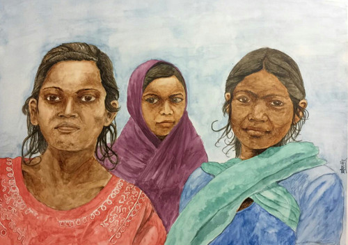 ,Chittarangi_Booti,ART_2047_19599,Artist : Prashant Singh,Water Colors