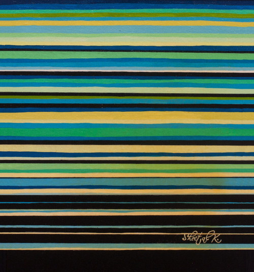 Abstract.,Line.,ART_1435_19855,Artist : Sheetal Kshatriya,Acrylic