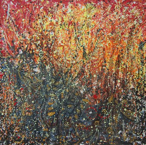 Spring forest,SPRING 3,ART_2646_19938,Artist : PEGASUS ART GALLERY,Mixed Media