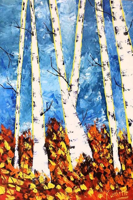 ,Tree fantasy,ART_2830_19929,Artist : Kusum Bhura,Acrylic