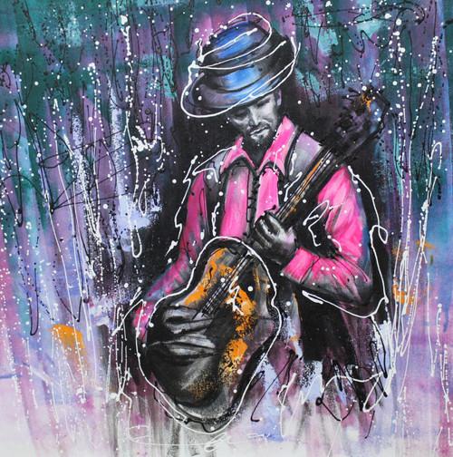 Music ,Musical Art 03,ART_1522_19967,Artist : Ram Achal,Acrylic