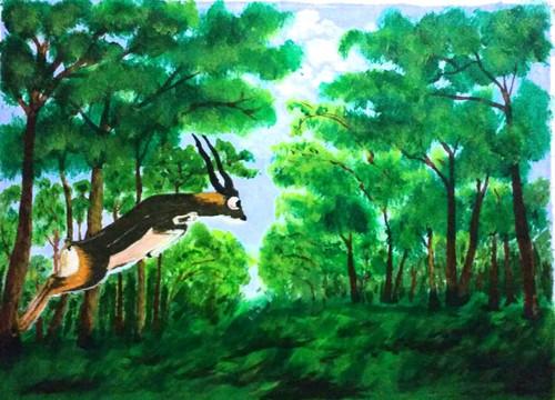 landscape,landscape,ART_2743_19982,Artist : Dinesh Mathur,Acrylic