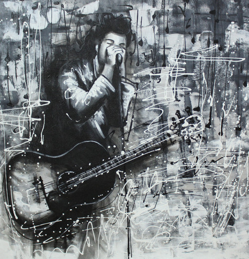 Music ,Musical Art 15,ART_1522_20030,Artist : Ram Achal,Acrylic