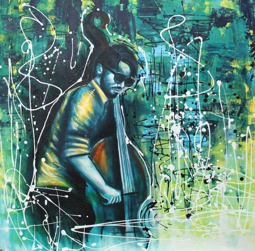 Music ,Musical Art 14,ART_1522_20028,Artist : Ram Achal,Acrylic