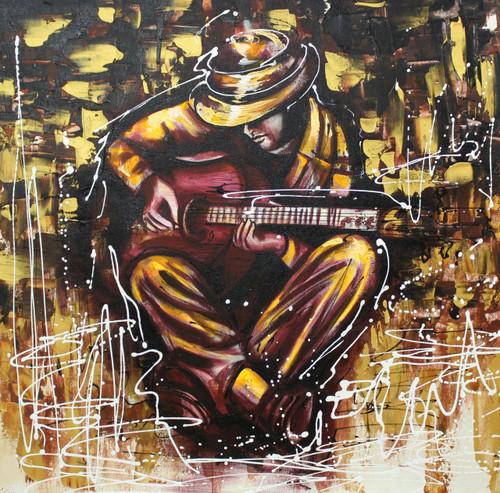 Music ,Musical Art 13,ART_1522_20018,Artist : Ram Achal,Acrylic