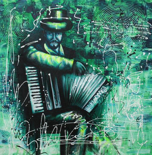Music,Musical Art 12,ART_1522_20017,Artist : Ram Achal,Acrylic