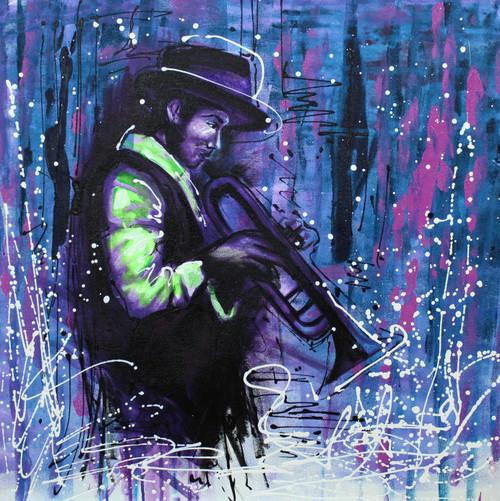 Music,Musical Art 11,ART_1522_20015,Artist : Ram Achal,Acrylic