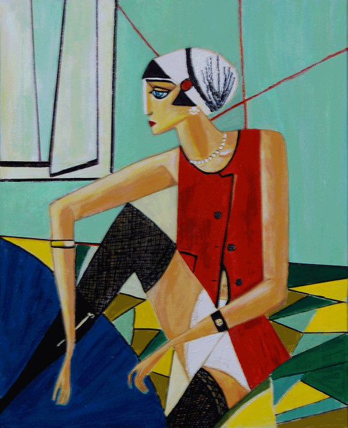 Invitation, Waiting,Invitation,ART_2768_19754,Artist : Shalini Singh,Acrylic