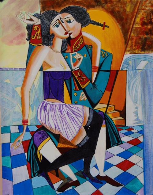 Love Air,Love is in the Air,ART_2768_19752,Artist : Shalini Singh,Acrylic