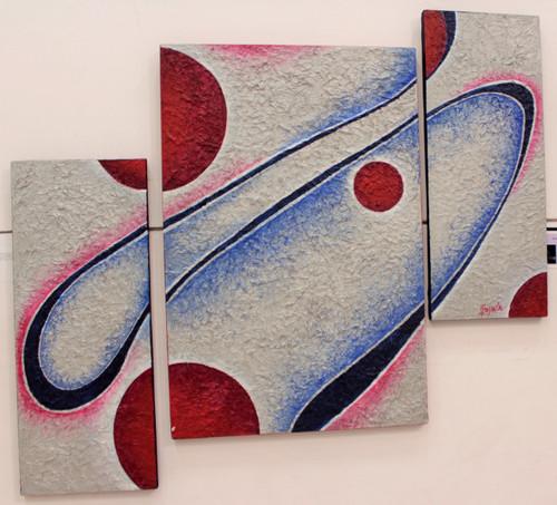 fusion, oneness, soul, individuality, singleness,Fusion,ART_2900_20250,Artist : Gayatri Hurra,Acrylic