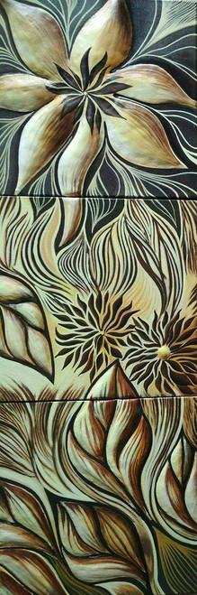 flower,leaf,preeti,tree,pop,texture,nature,multipiece,series,longitudinal,FLOWER WITH LEAFS,ART_2521_20323,Artist : Preeti Dungarwal,Acrylic