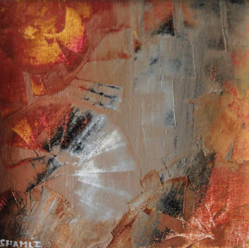 abstract, acrylic on canvas, texture,Utkarsha,ART_3009_20596,Artist : Shamli Hingorani,Oil