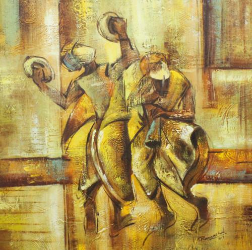 Indian Art ,Indian musical Art 06,ART_1522_20748,Artist : Ram Achal,Acrylic