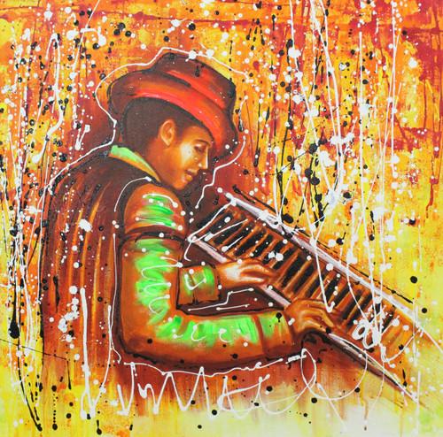 Musical art 21,Musical Art 20 ,ART_1522_20739,Artist : Ram Achal,Acrylic